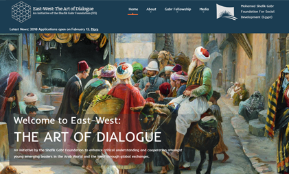 WORDPRESS WEBSITE: EAST-WEST: THE ART OF DIALOGUE