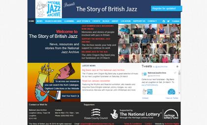 WEBSITE: NATIONAL JAZZ ARCHIVE