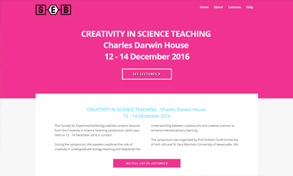 VIDEO AND SLIDES PLATFORM: CREATIVITY IN SCIENCE TEACHING