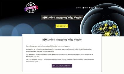 VIDEO AND SLIDES PLATFORM: Royal Society of Medicine