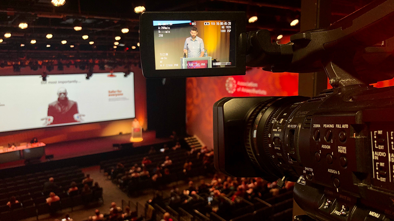 LIVE STREAMING: Association of Anaesthetists Annual Congress 2019