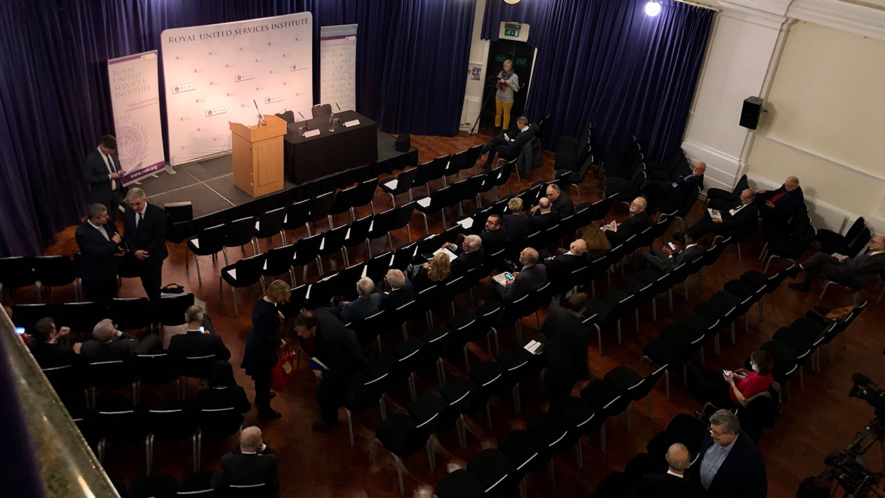 LIVE STREAMING: RUSI Chief Of Defence Lecture